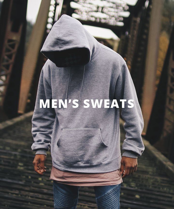 Men's sweaters and hoodies