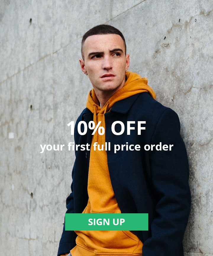 10% Off Your First Full Price order When You Sign up to the newsletter