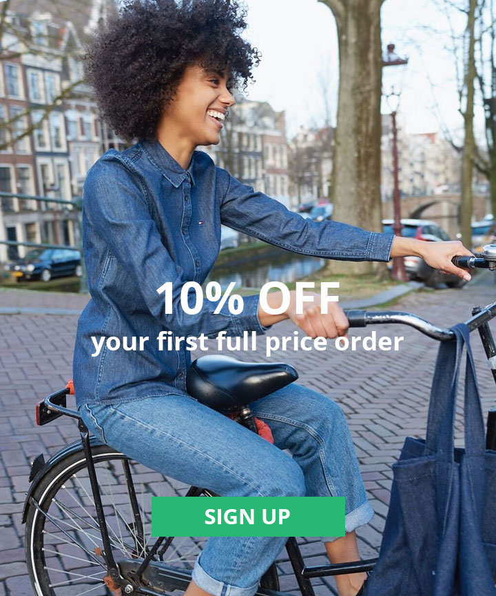 10% Off Your first order when you sign up for the newsletter - full price items only