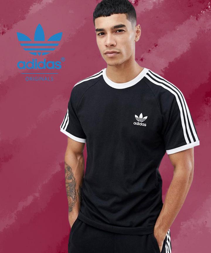 Men's Black 3-Stripes T-Shirt