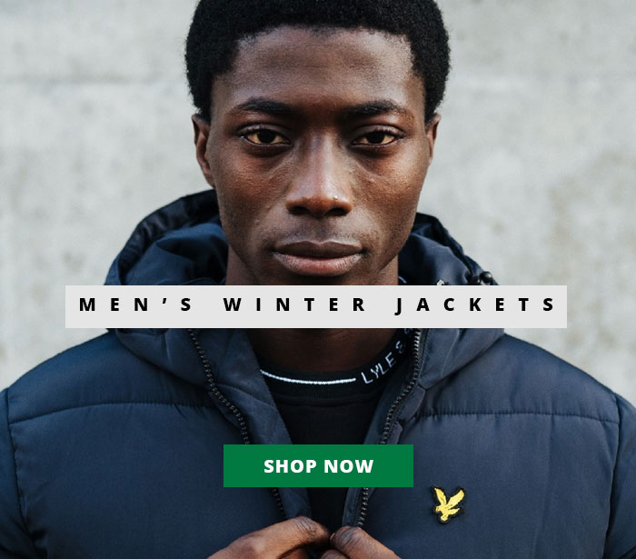 Shop Men's Winter Jackets