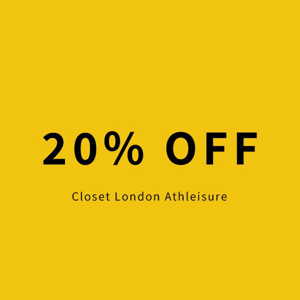 20% off All Closet London Athlesiure, hoodies, leggings, tops
