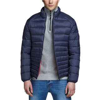 Jack & Jones Essentials Navy Blazer Warm Puffer Jacket