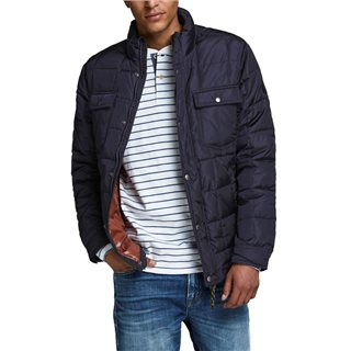 Jack & Jones Premium Dark Navy Quilted Jacket