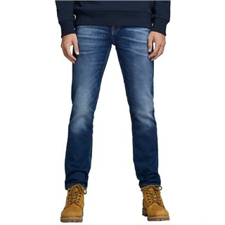 Jack & Jones Intelligence Blue Denim Tim Leon 227 Slim Fit Jeans
