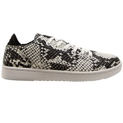 Woden Black / White Jane Snake Trainers