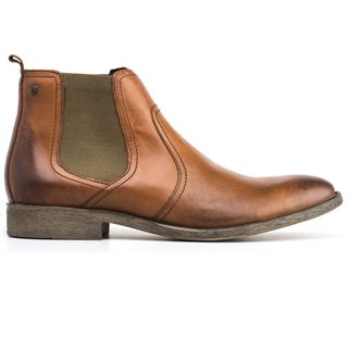 Base London Tan Combust Chelsea Boots