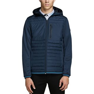 Jack & Jones Core Sky Captain Padded Detail Puffer Jacket