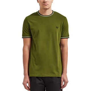 Fred Perry Cypress Twin Tipped T-Shirt
