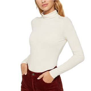Vero Moda Birch Carla Long Sleeve High Neck Top