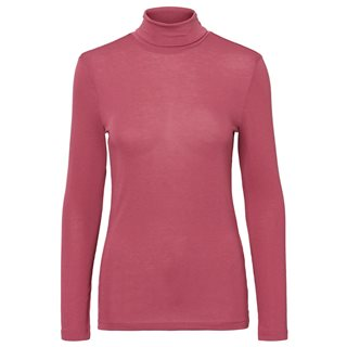 Vero Moda Hawthorn Rose Carla Long Sleeve High Neck Top