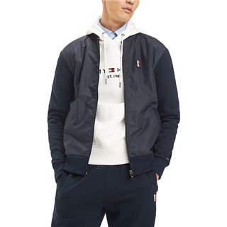 Tommy Hilfiger Sky Captain Cotton French Terry Bomber Jacket