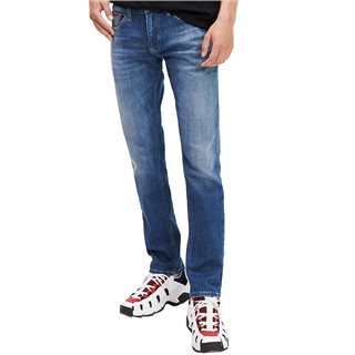 Tommy Jeans Michel Mid Blue Wash Slim Fit Jeans