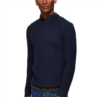 Selected Homme Oliver Knitted Crew Neck