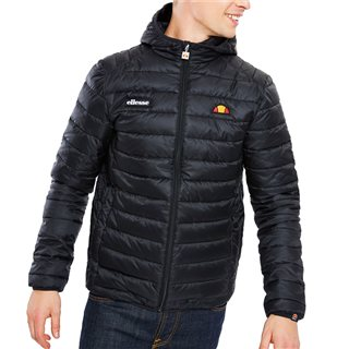 Ellesse Black Lombardy Padded Jacket