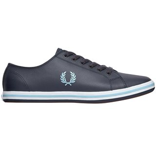 Fred Perry Navy Kingston Leather Trainer