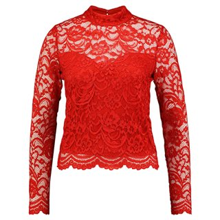 Guess Red Hot Gladys Lace Blouse