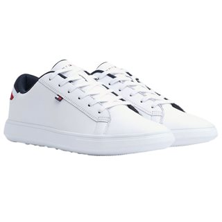 Tommy Hilfiger Footwear White Essential Signature Detail Trainers
