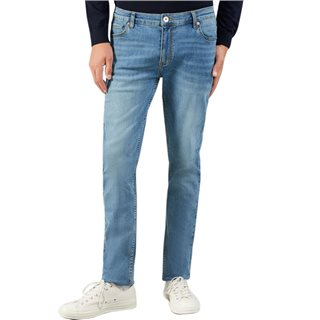 Farah Worn Indigo Drake Slim Fit Stretch Jeans