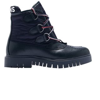 Tommy Hilfiger Footwear Midnight Textured Chunky Boots
