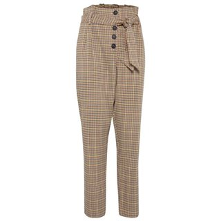 BlendShe Sone High Rise Check Pants
