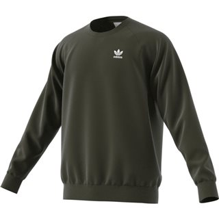 adidas Originals Green Trefoil Essentials Crewneck Sweatshirt