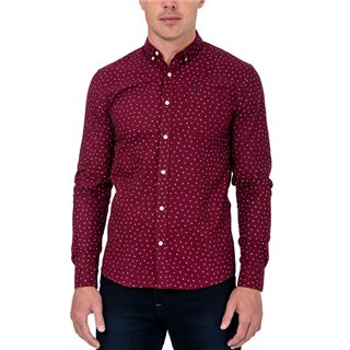 Tommy Bowe XV Kings Berry Seed Waikato Long Sleeve Print Shirt
