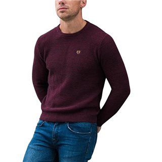 Tommy Bowe XV Kings Marine Knit Crew Neck Canning Sweater