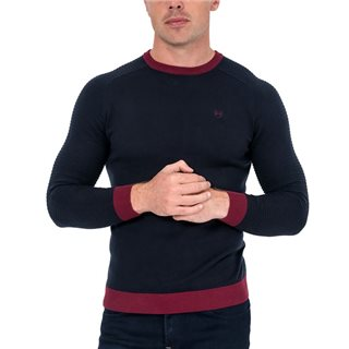 Tommy Bowe XV Kings Navy Armour Raiders Crew Neck Sweater