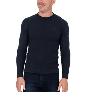 Tommy Bowe XV Kings Navy Weave Corinthians Crew Neck Sweater