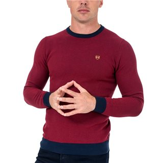 Tommy Bowe XV Kings Berry Breeze Camden Crew Neck Sweater