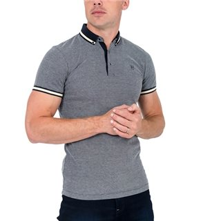 Tommy Bowe XV Kings Ice Fleck Cinderford Polo Shirt