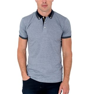 Tommy Bowe XV Kings Ice Fleck Oberon Polo Shirt