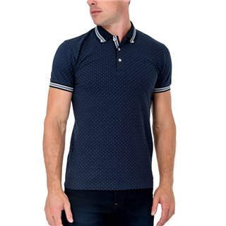 Tommy Bowe XV Kings Bleu Dot Briars Polo Shirt
