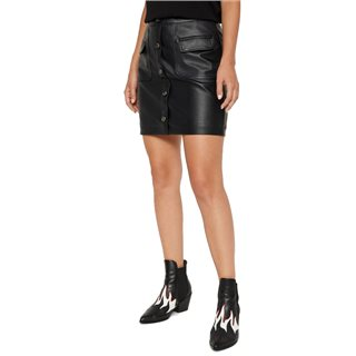 Vero Moda Black High Waisted Short Skirt