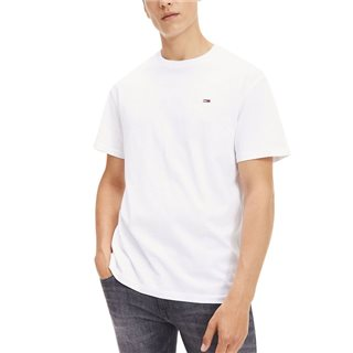 Tommy Jeans Classic White Organic Cotton T-Shirt