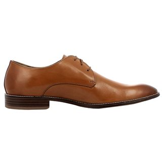Gordon And Bros Cognac Mirco Leather Dress Shoes