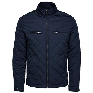 Selected Homme Dark Sapphire Quilted Jacket