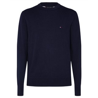 Tommy Hilfiger Cotton / Cashmere Crew Neck Jumper