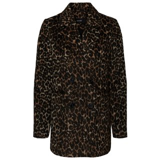 Vero Moda Tobacco Brown Leopard Jacket