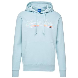 Jack & Jones Originals Light Blue Franco Sweat Hoodie