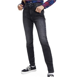 Tommy Hilfiger Womens Raleigh Bk Str Skinny Fit Jeans