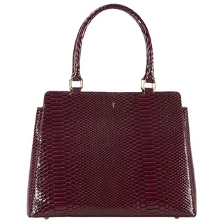 Paul's Boutique Burgundy Suki Top Handle Bag