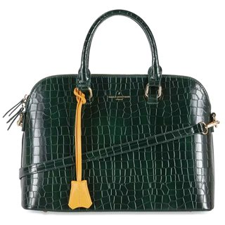 Paul's Boutique Dark Green Maisy Top Handle Bag