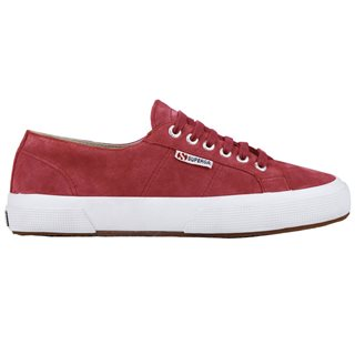 Superga Red Cardinal 2750 Sueu Platform Trainer