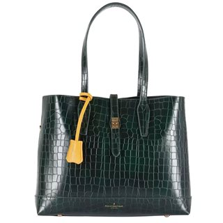 Paul's Boutique Dark Green Evelyn Tote Bag
