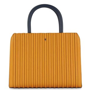 Paul's Boutique Mustard Midi Mabel Top Handle Bag