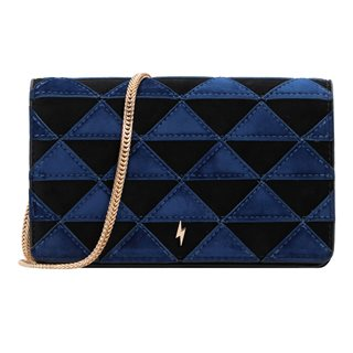 Paul's Boutique Black Vivienne Shoulder Clutch Bag