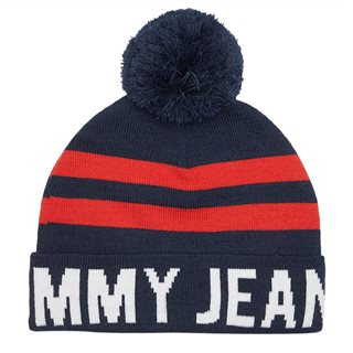 Tommy Accessories Corporate Logo Beanie