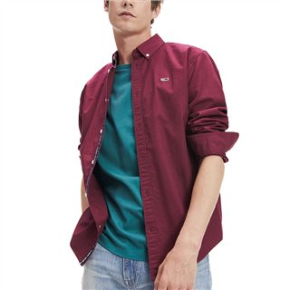 Tommy Jeans Cotton Twill Tape Shirt